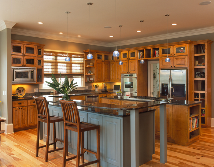 Hardwood Cabinets Enhance Universal Design  American