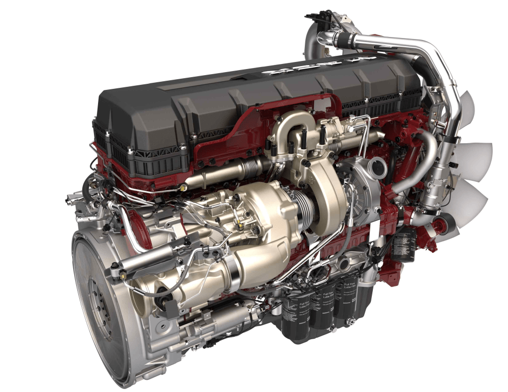 medium resolution of mack mp8 with turbo compounding