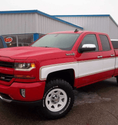 at least two chevy dealerships in the u s and two in canada are offering a retro big 10 conversion on the 2018 silverado which is quickly gaining traction  [ 1024 x 768 Pixel ]
