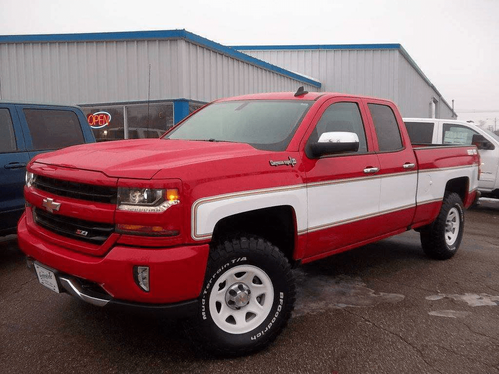 hight resolution of at least two chevy dealerships in the u s and two in canada are offering a retro big 10 conversion on the 2018 silverado which is quickly gaining traction
