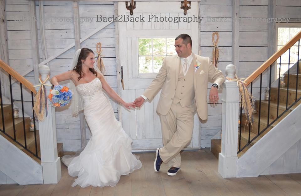 rustic wedding maine