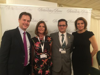 nick clegg, Nicole Peli, Mario Peli, Julia Hartley-Brewer
