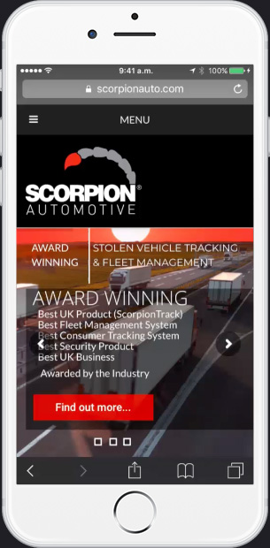 scorpion iphone web cover