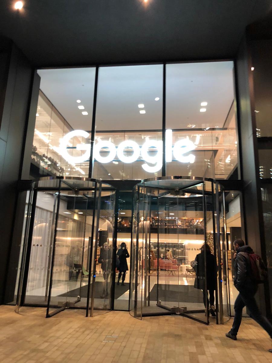 google entrance london