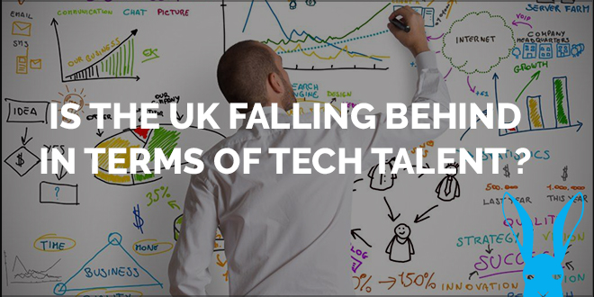 is the uk falling behind in the terms of tech talent