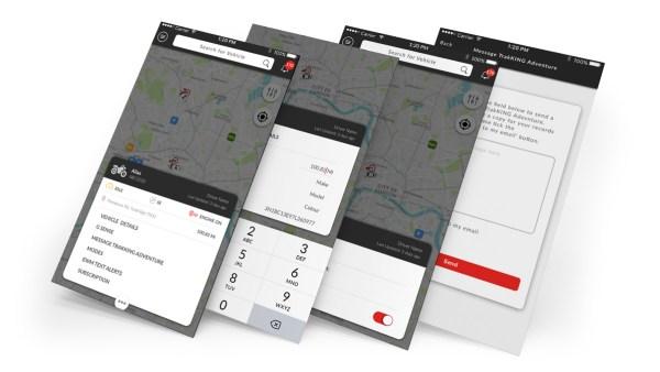 vehicle details, text alerts