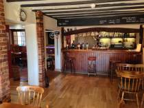 The view from the dining area of our bar