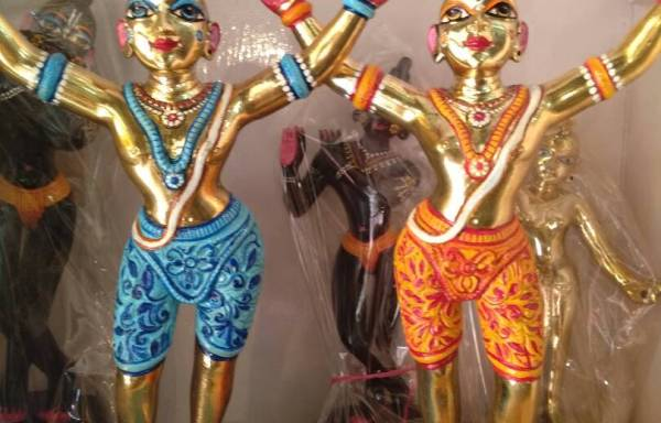 Gaur Nitai Metal Deities 12″ Inches