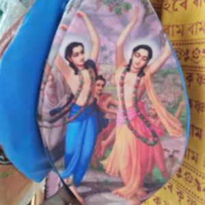 Chanting Beads Bag Gaura Nitai