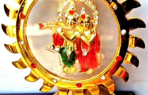 Accessories – Radha Krishna Car Dashboard Sudarshan
