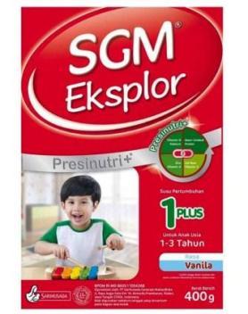 Harga Susu SGM 1-3 Tahun