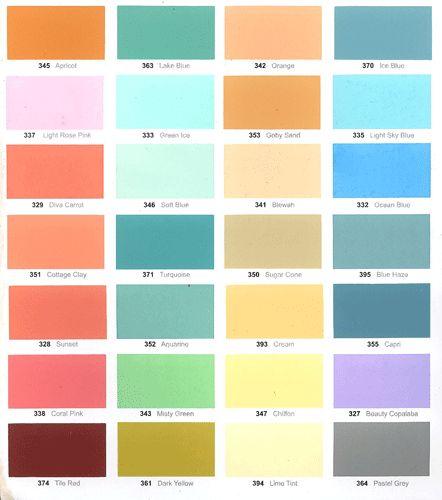 list warna terbaru