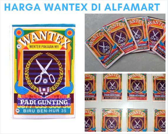 Harga Wantex di Alfamart