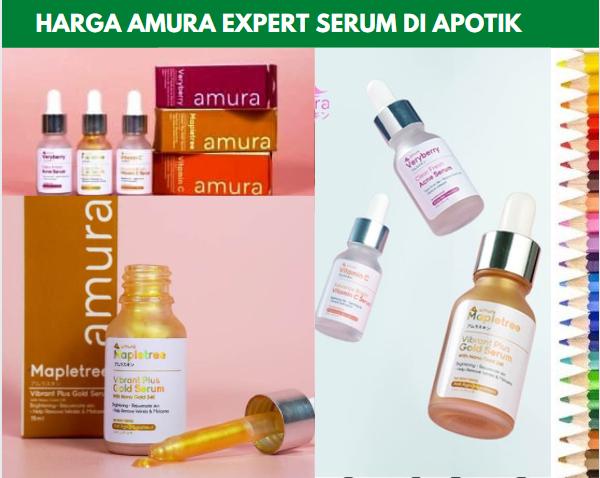 Harga Amura Expert Serum di Apotik