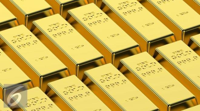 kebijakan the fed tekan harga emas