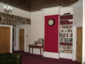 upstairs communal area