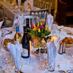 Wedding Breakfast at Hargate Hall