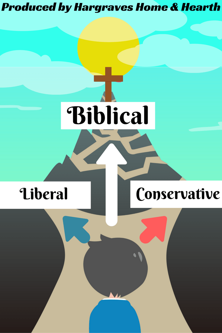 Liberal, Conservative, or Biblical?