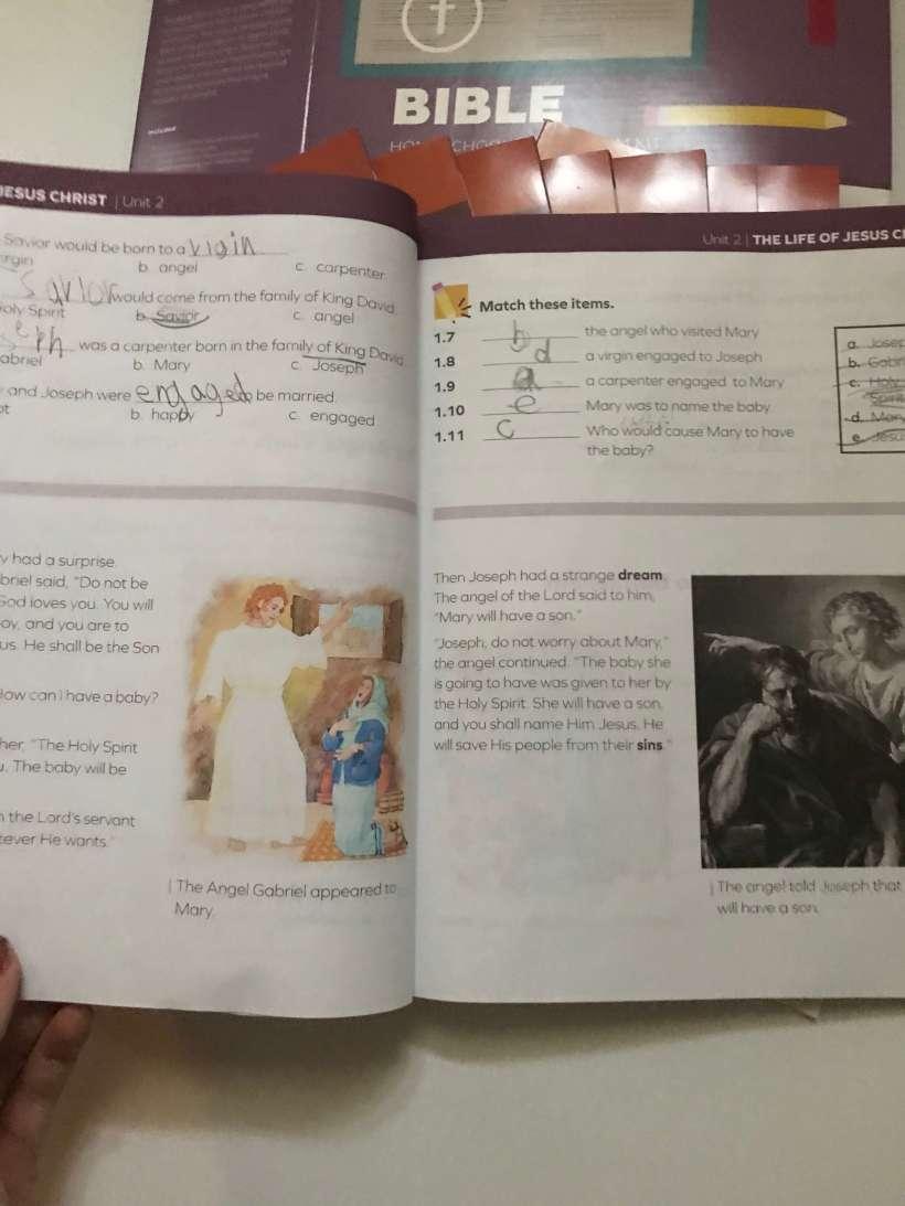 Curriculum Review: 3rd Grade Bible from AOP's LIFEPAC