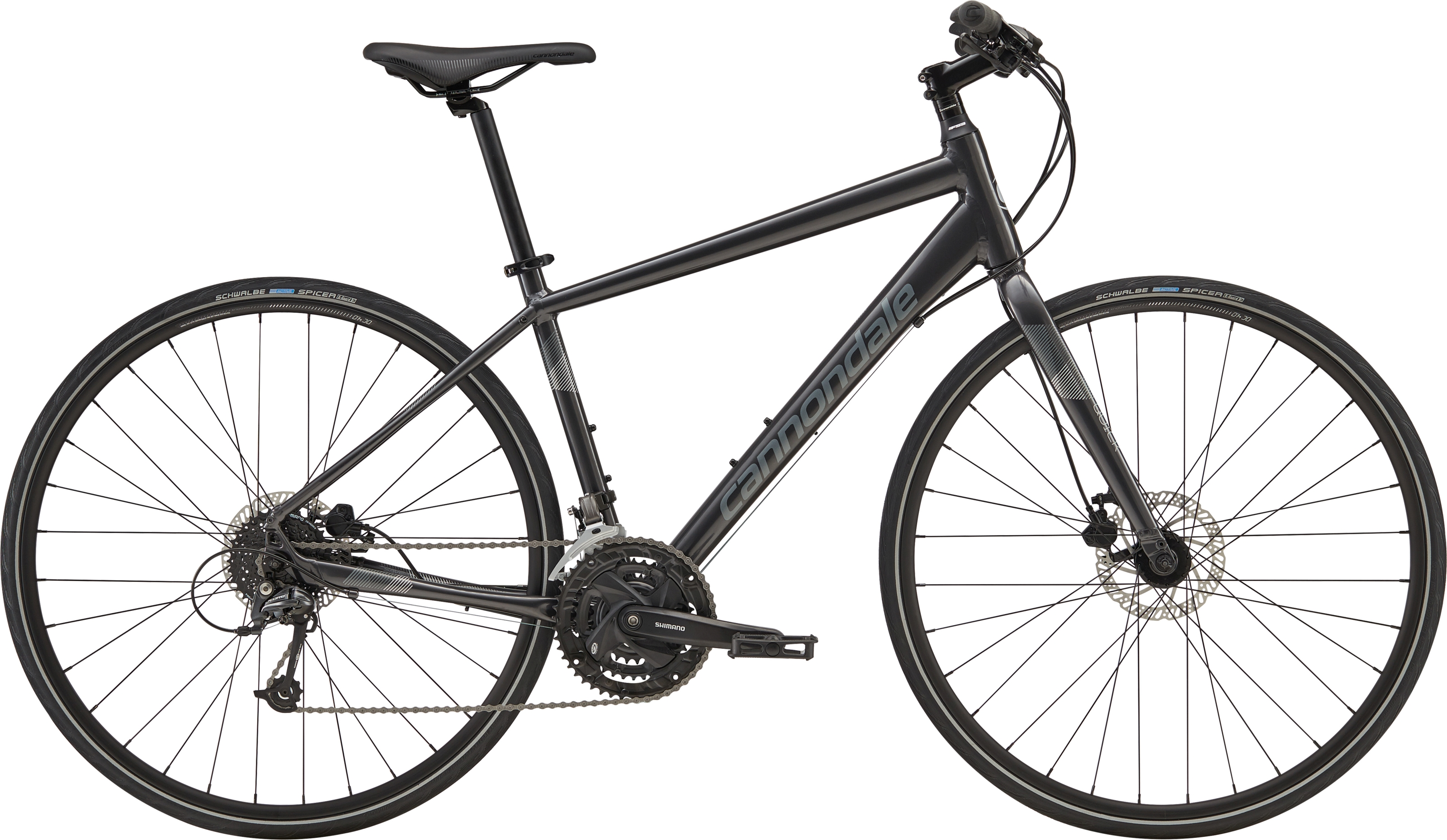2019 Cannondale Quick 4 Mens Flat Bar Hybrid in Grey £499.00