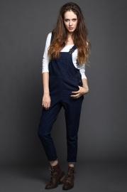 Model Celana dan Baju Kodok Denim Terbaru