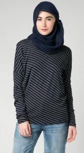 Model Baju Santai Wanita Muslim Berjilbab