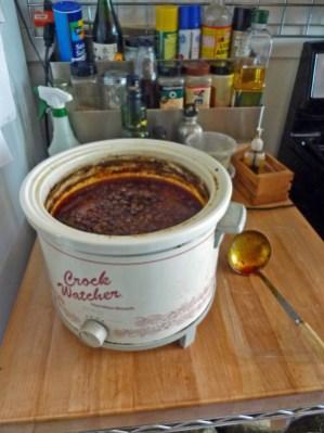 Chole in crock pot