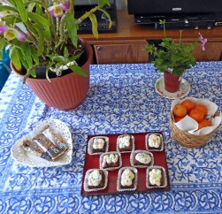 Lunch on April 19, 2015