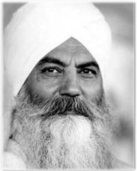 "Today: ""If you want to grow, you must face opposition."" Yogi Bhajan"
