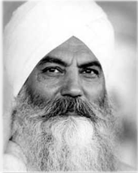 "Today: ""What is man's destiny? Man's destiny is to merge with infinity."" Yogi Bhajan"