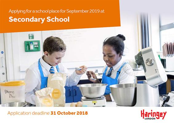 Starting Secondary School In 2019 Haringey Council