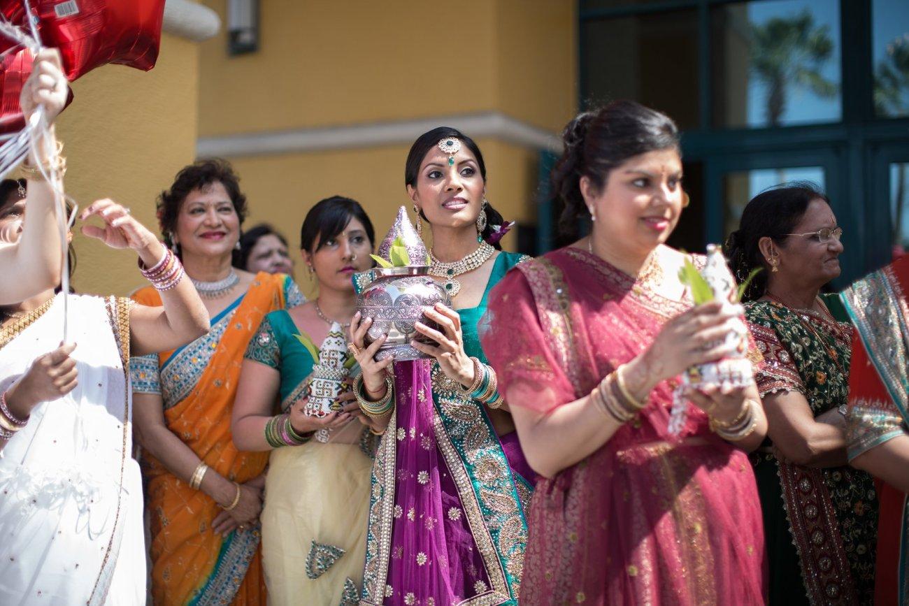 S1-1-1357 Sheetal + Guru   Hindu Indian Wedding Photos   South Florida