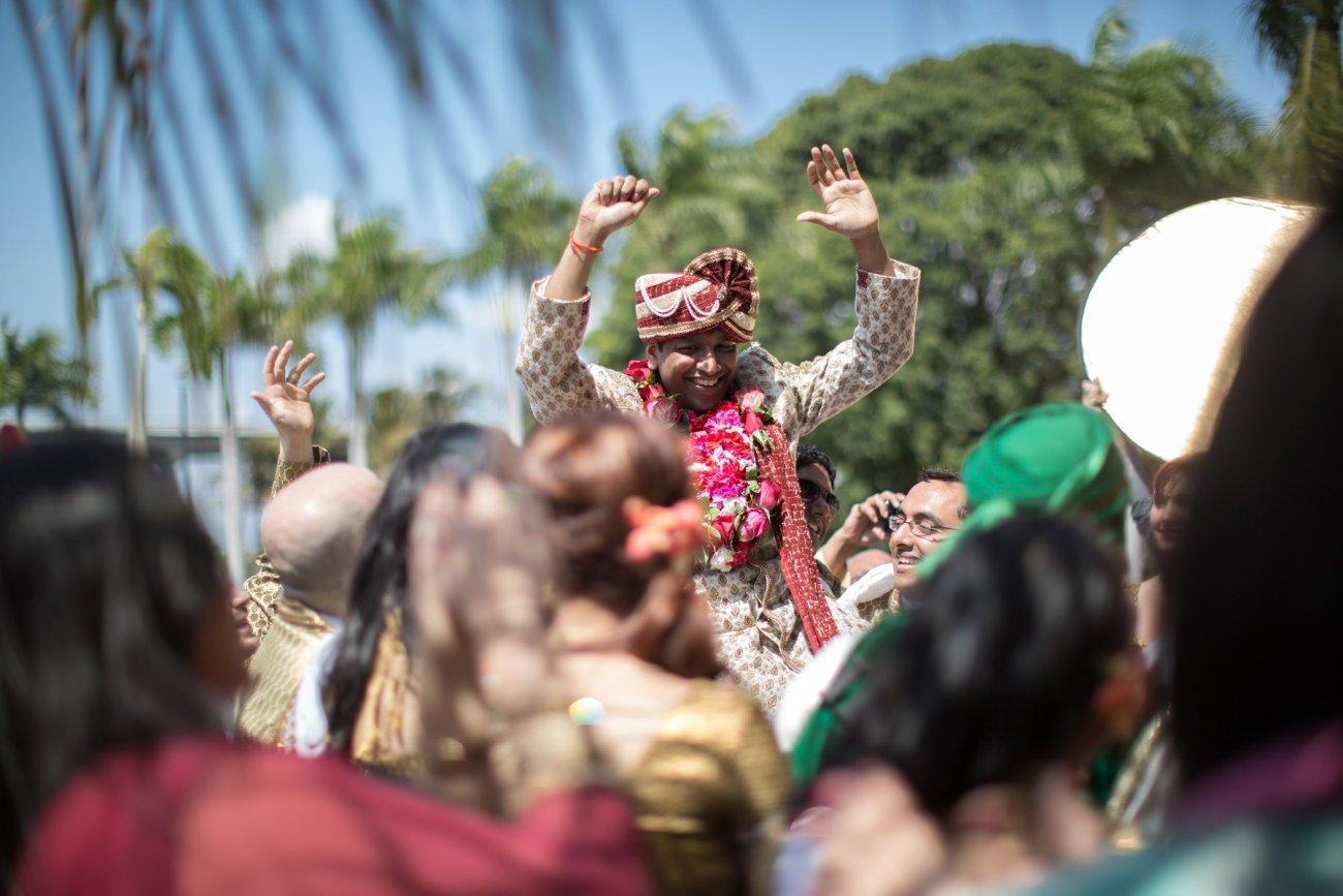 S1-1-1363 Sheetal + Guru   Hindu Indian Wedding Photos   South Florida