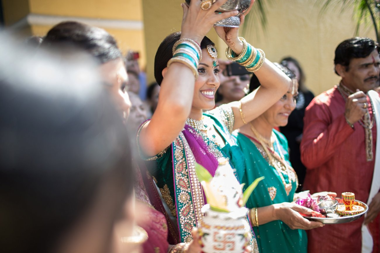 S1-1-1364 Sheetal + Guru | Hindu Indian Wedding Photos | South Florida