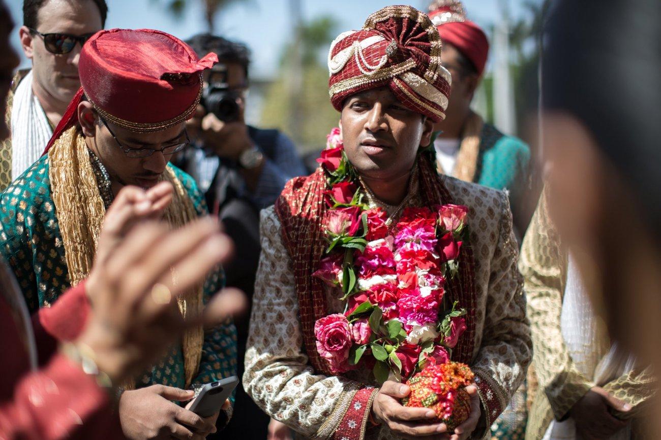 S1-1-1368 Sheetal + Guru   Hindu Indian Wedding Photos   South Florida