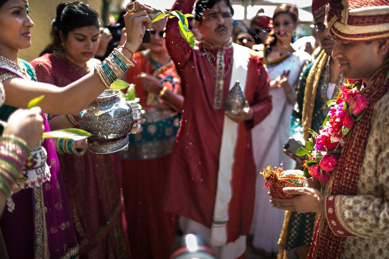 S1-1-1369 Sheetal + Guru   Hindu Indian Wedding Photos   South Florida