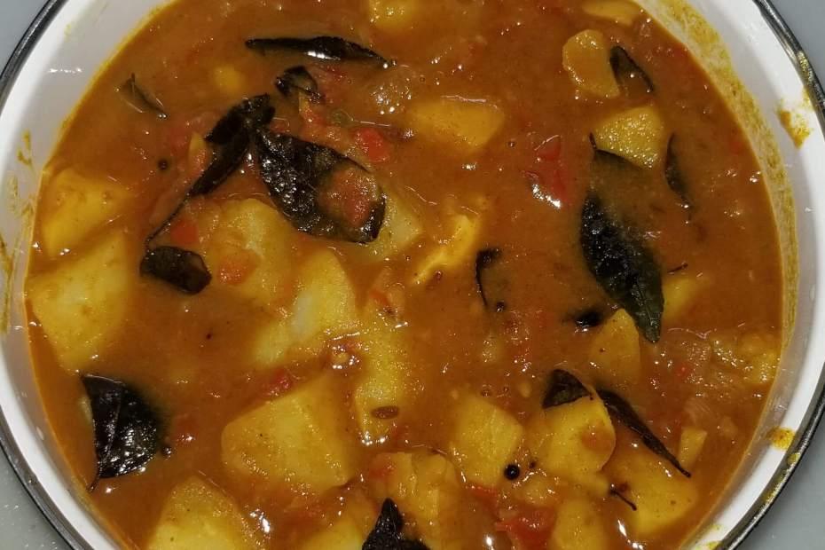 Aloo Sabji   Potato Curry
