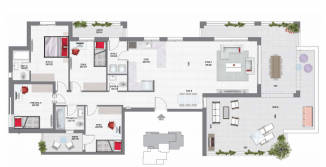 פנטהאוז 5 חדרים