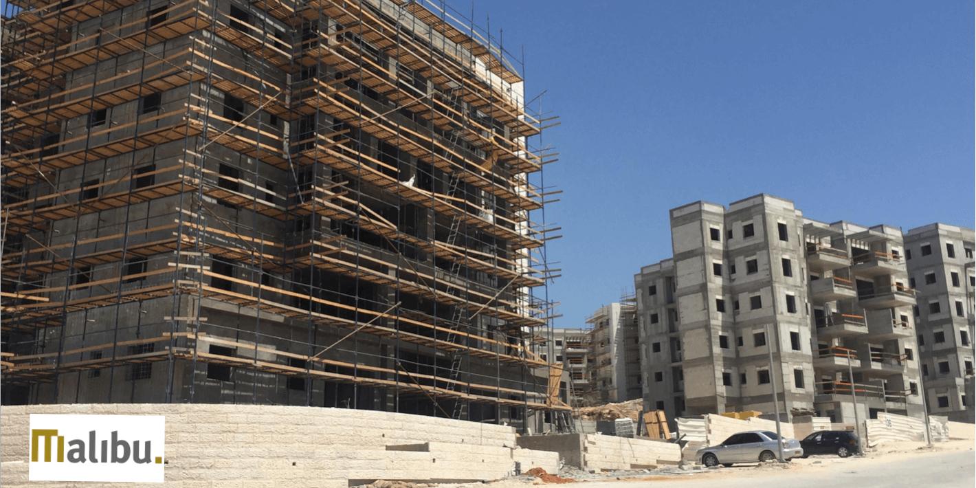 פרוייקט בבנייה של אורתם מליבו בחריש
