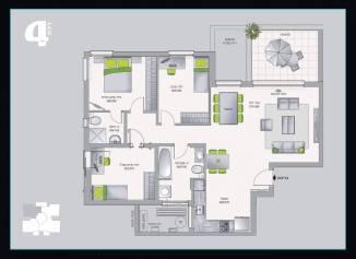 דירת 4 חדרים אשדר בחריש