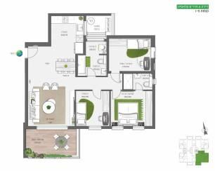 דירת 4 חדרים קלאסית | על הפארק בחריש חנן מור