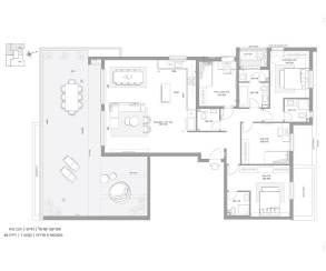 פנטהאוז 5 חדרים PH2 - סביוני חריש