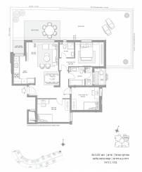 דירת גן 4 חדרים דגם B2 GAN | סביוני חריש