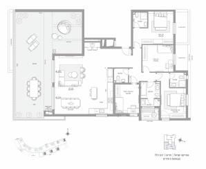 פנטהאוז 5 חדרים דגם PH1 | סביוני חריש