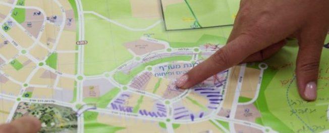 """תכנון שכונת מעו""""ף שיתוף ציבור"""