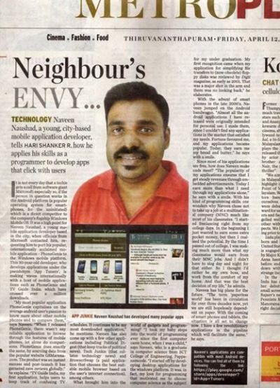 Neighbour's Envy