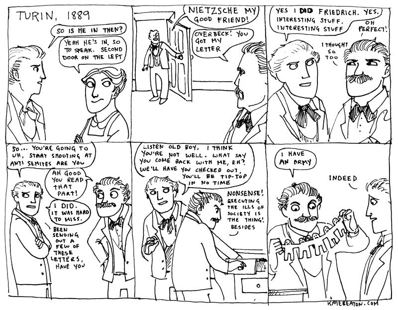 Hark! A Vagrant!  Nietzsche