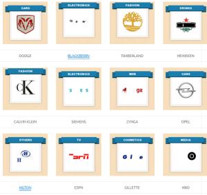 Guess the brand logo 12 logos