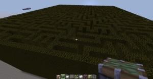 Minecraft maze