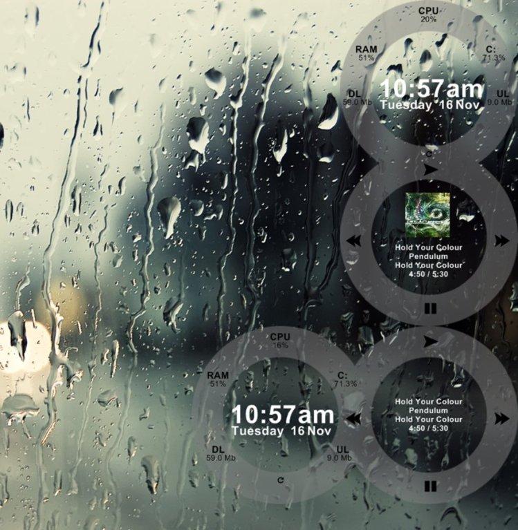 Rainmeter Figures skin